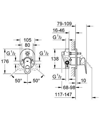 """אינטרפוץ 4 דרך קומפלט 29041 גרואה סדרת לופ היוקרתית במחיר השקה מיוחד 679 כולל מע""""מ!"""