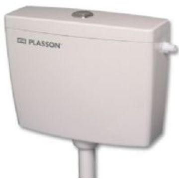 מודיעין ניאגרה גלויה פלסאון דגם שיאון - מיכל הדחה דו כמותי נמוך 9/4.5 ליטר KV-18